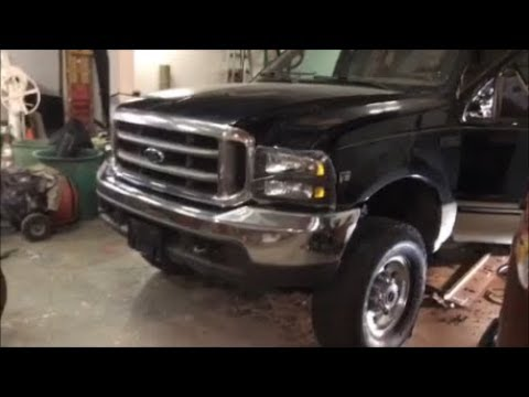 How To Fit 2005-2007 Headlights On a 1999-2004 Ford F350/F250