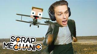 Letecký den | Scrap Mechanic #3 w/ Gejmr