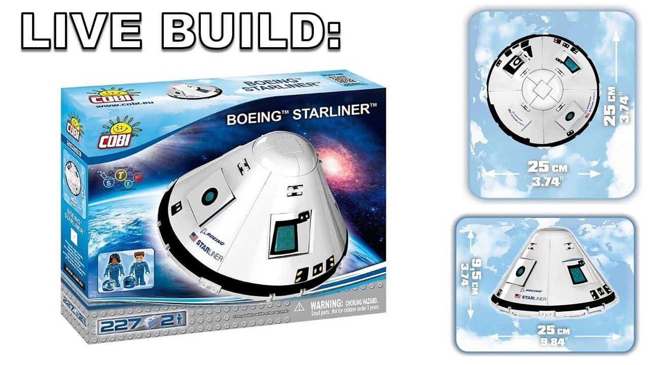 Boeing CST-100 Starliner COBI 26263-227 brick spacecraft