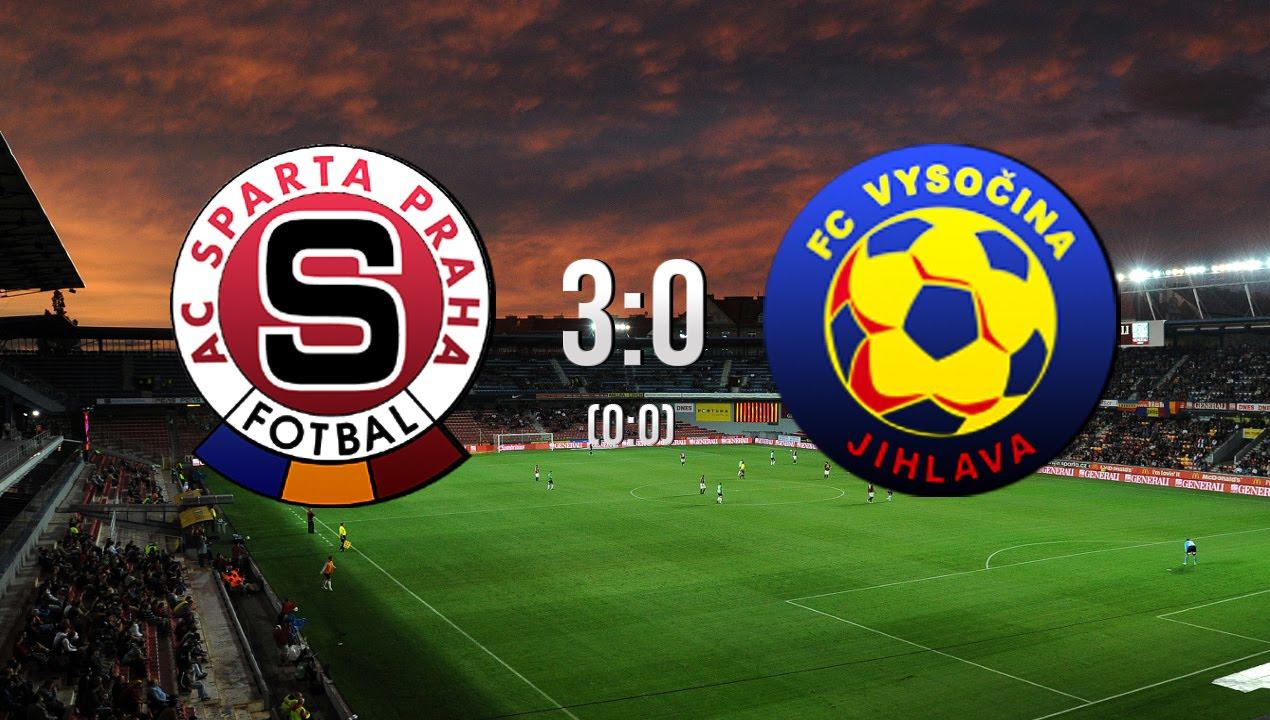 Synot Liga Ac Sparta Praha Fc Vysocina Jihlava   Youtube