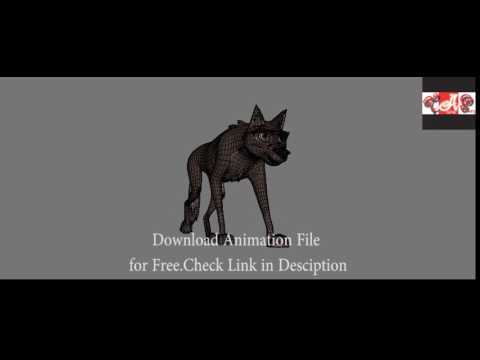 WolfDog Walk- Download Free Animation File