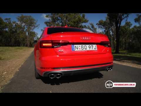 2017 Audi S4 0-100km/h & engine sound