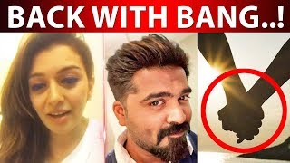 Hansika Back With Simbu again