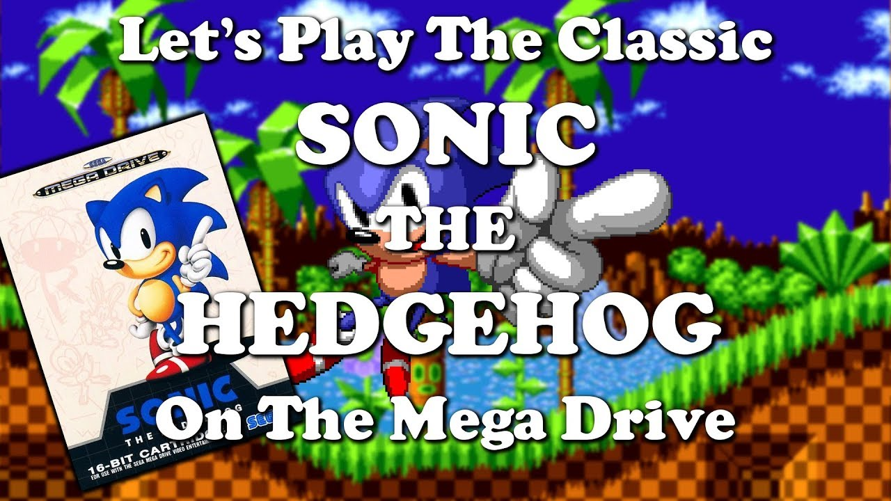 Let's play Sonic The Hedgehog on Mega Drive   CruachanKeith