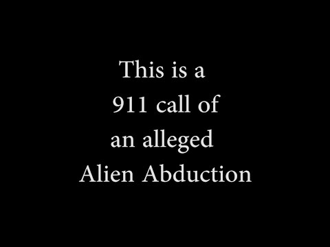 Alien Abduction 911 Call (Indiana County, Pennsylvania)