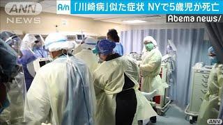 NYで「川崎病」に似た症状発症した5歳男児が死亡(20/05/09)