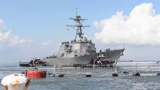 U.S. Navy Ships Sortie Out of Naval Station Norfolk Prior to H…