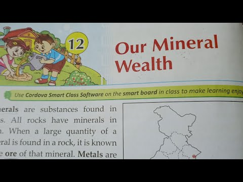 Our Mineral Wealth : Class-4 L-12 Part-1 : Social Studies : Our Mineral Resources : CBSE ICSE NCERT