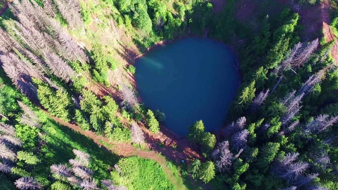 первая фоторепортаж про озеро морской кривите