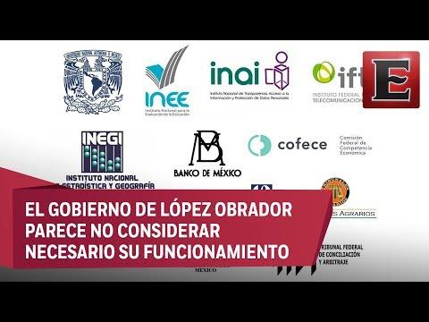 ¿Cuál es el futuro de los organismos autónomos en México?