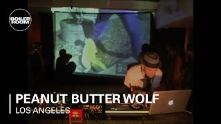 Peanut Butter Wolf 60 min Boiler Room Los Angeles DJ Set