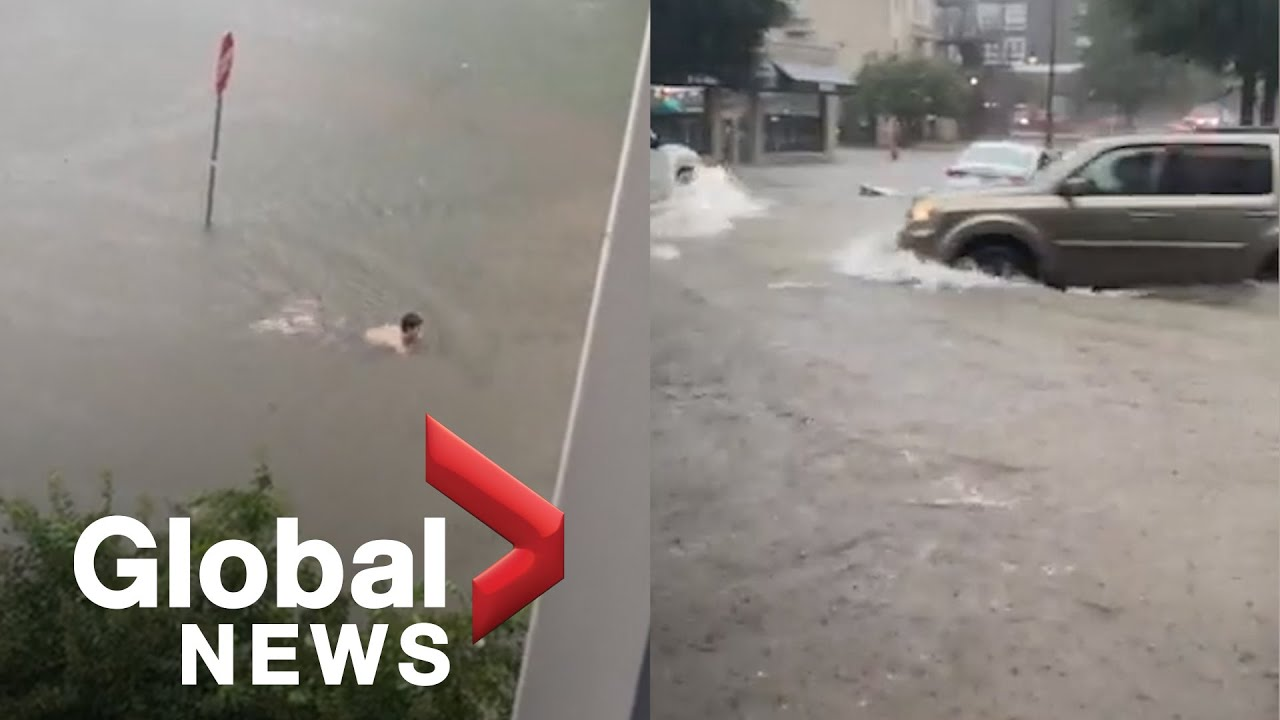 Download Heavy rains bring flash flooding to Tuscaloosa