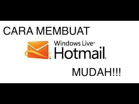 Cara Membuat Email dengan Mudah (Hotmail)