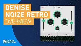 Noize Retro by Denise | Free Plugin | Adaptive Noise Generator Tutorial
