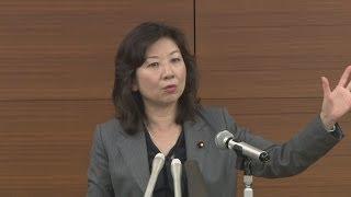 自民党の野田聖子総務会長は3日、共同通信加盟社論説研究会で講演し、...