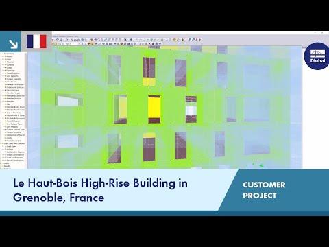 [FR] CP 001161 | High-Rise Building Le Haut-Bois in Grenoble, France