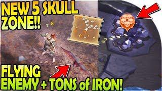 NEW 5 SKULL ZONE (INSANELY HARD), FLYING ENEMY, + IRON JACKPOT! - Grim Soul Survival 1.6.0