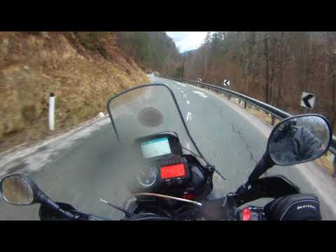 Motorcycle trip around Balkans. Riding in beautiful Slovenia - Update
