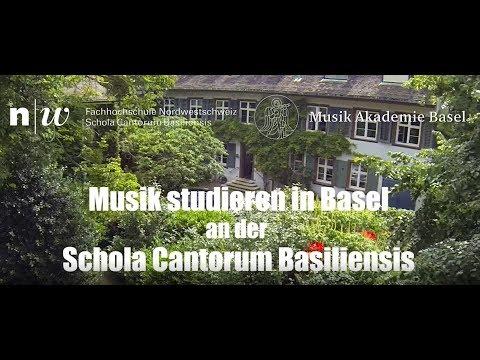 Musik studieren an der Schola Cantorum Basiliensis