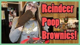 REINDEER POOP BROWNIES!  Busy Bakin&#39!