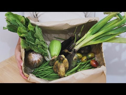 Trying 1 month subscription of VEGETABLE DELIVERY || PHILIPPINES