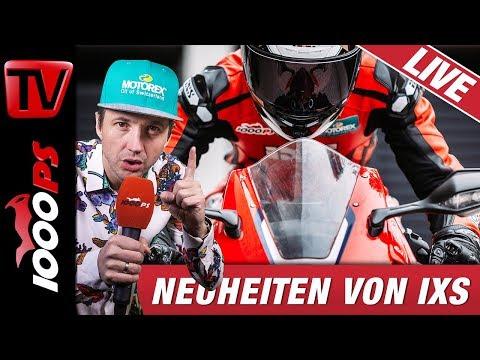 Motorradbekleidung Neuheiten 2019 - Neuheiten von IXS - Live Beratung und Information