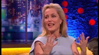 Gillian Anderson interview - Jonathan Ross Show 2016