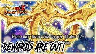 SUPER SHENRON REWARDS ARE OUT! | FREE STONES FOR EVERYONE! | DRAGON BALL Z DOKKAN BATTLE