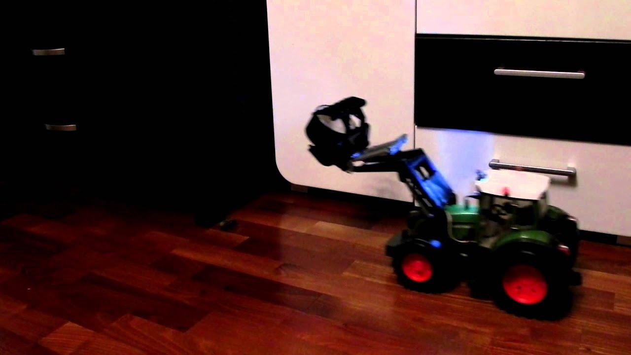 Funktionsmodell traktor bruder umbau frontlader rc ferngesteuert