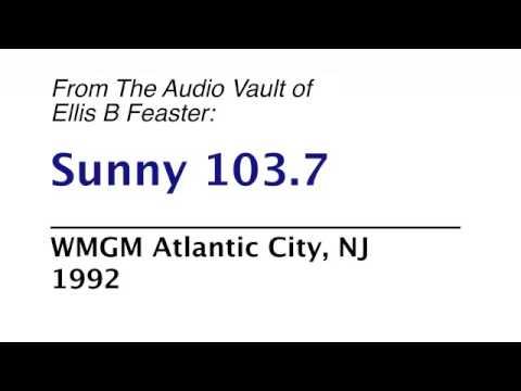 WMGM Sunny103.7 Atlantic City - 1992