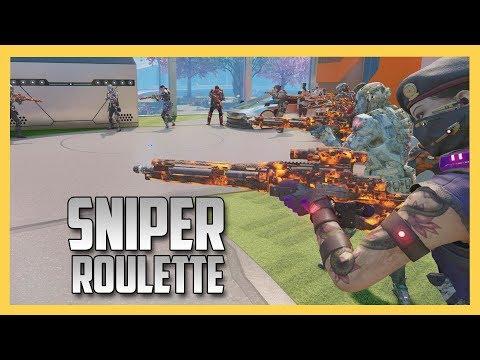 Sniper Roulette - Sniper In The Center!
