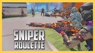 Sniper Roulette - Sniper In The Center!