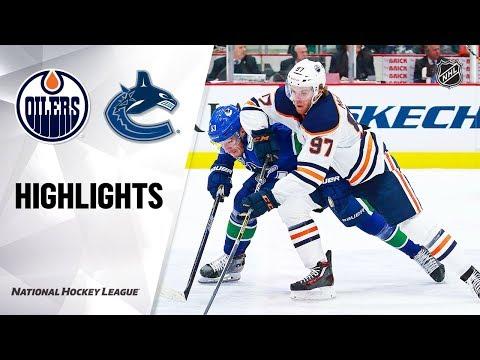 NHL Highlights   Oilers @ Canucks 12/23/19