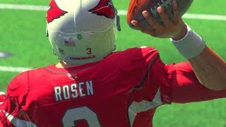 Josh Rosen WITH THE BIGGEST THROW OF HIS LIFE! Madden 18 Ultimate Team Gameplay
