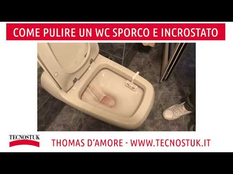 factory price a6ca7 d5743 COME PULIRE UN WC SPORCO E INCROSTATO - DETERGRES - YouTube