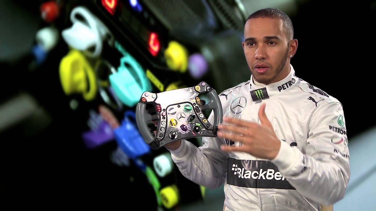 F1 2013 - Mercedes AMG - Lewis Hamilton explains in detail ...