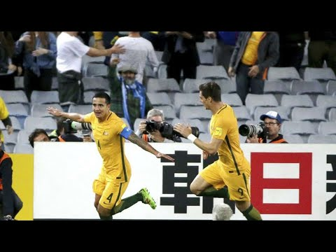 Aussies end war-torn Syria's World Cup hopes in extra time