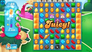 Candy Crush Soda Saga Level 868 Super Hard Level BOOSTERS FROM RAINBOW ROAD + TREASURE HUNT