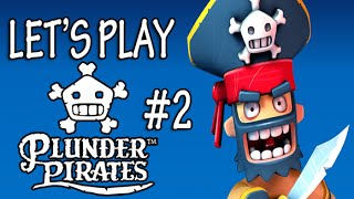 Plunder Pirates #2 Plunder time! #PLUNDERED (iOS Combat Strategy Game)