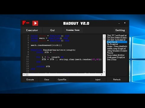 New Roblox Best Executor Badguy V2 0 Free Level 7 Full Lua