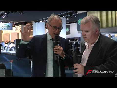 Dr Ulrich Bez at Frankfurt Motor Show 2011