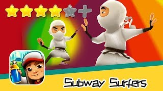Subway Surfers - Kiloo - Singapore Day4 Walkthrough Ninja Yang Outfit Recommend index four stars