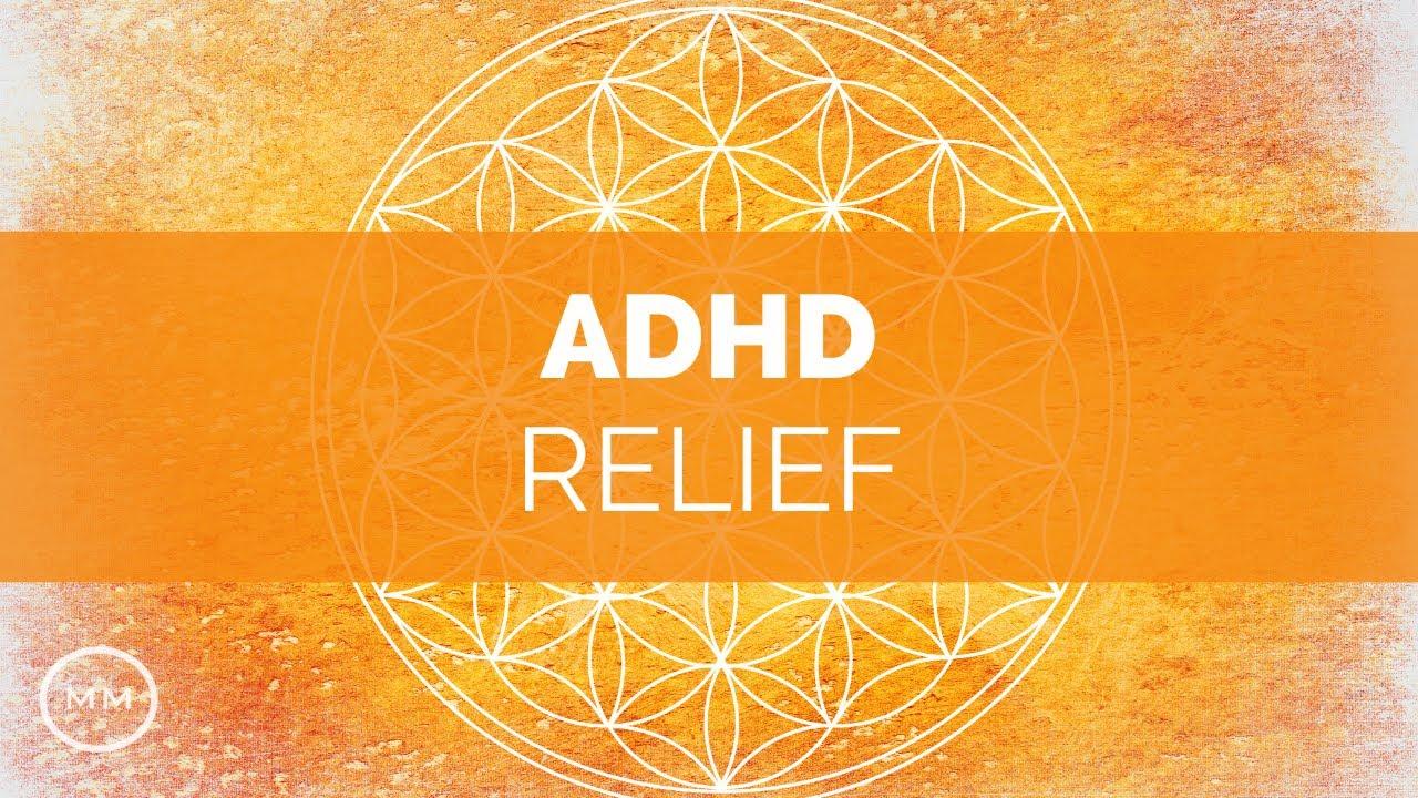 ADHD Relief - Focus Music - Increase Focus, Concentration, Memory -  Binaural Beats