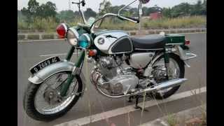 1964 Honda CP77 Military Reborn (Indonesia)