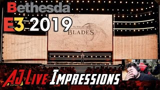 Bethesda E3 2019 Press Conference Live w/ AngryJoe & Delrith!