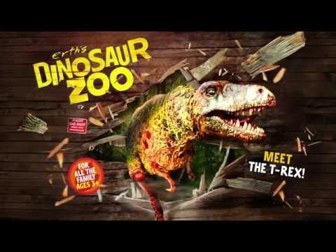 Dinosaur Zoo - Meet The T-Rex | The Blackpool Grand Theatre
