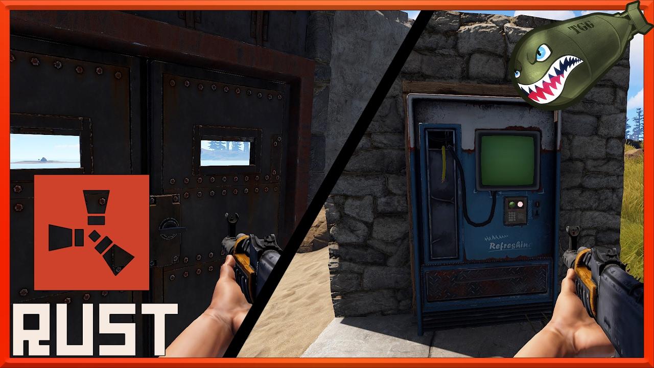 Rust What\u0027s Coming | Working Armored Door Hatch Vending Machine #59 (Rust News \u0026 Updates) - YouTube & Rust What\u0027s Coming | Working Armored Door Hatch Vending Machine #59 ...