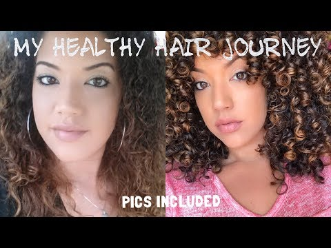 How to Save Curls from Heat & Color Damage | Healthy Hair Journey