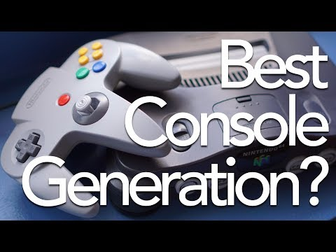 The Best Game Console Generation | This Does Not Commute Podcast #46