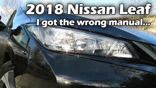Nissan Листя 2018 2.Нуль - я отримав неправильну інструкцію і купив не ті лампи